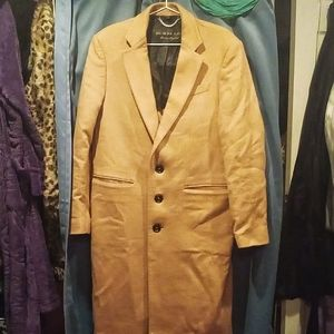 Authentic Burberry camel hair trench coat Size 52